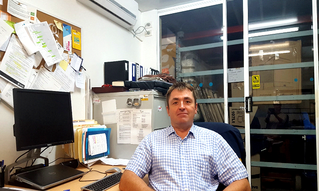 Robina Removals Managing Director Leonid